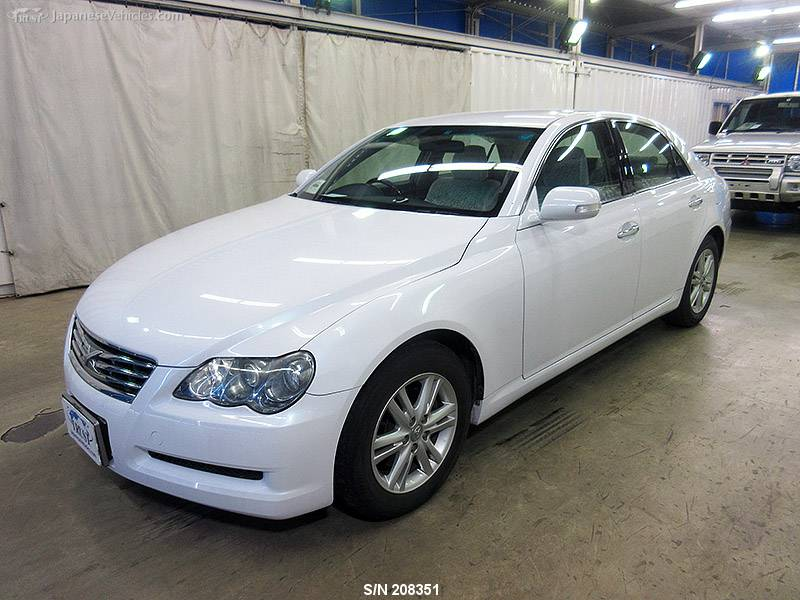 Toyota Mark X 2007 S N 208351 Used For Sale Trust Japan In 2020 Toyota Used Toyota Camry 2007