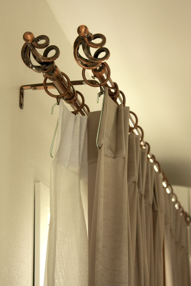 French Two Finger Pleated Drape And Sheer Drape Www