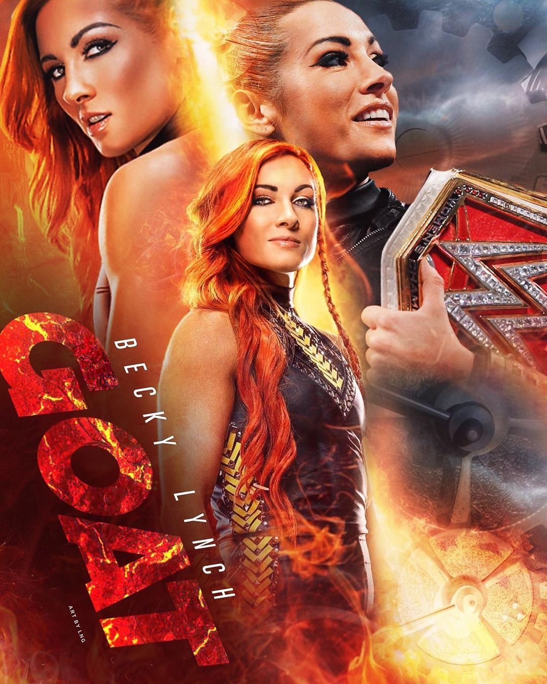 L N G On Instagram Would Y All Say That Becky Is The Greatest Women S Champion In Modern History Ww Becky Wwe Wwe Female Wrestlers Female Wrestlers