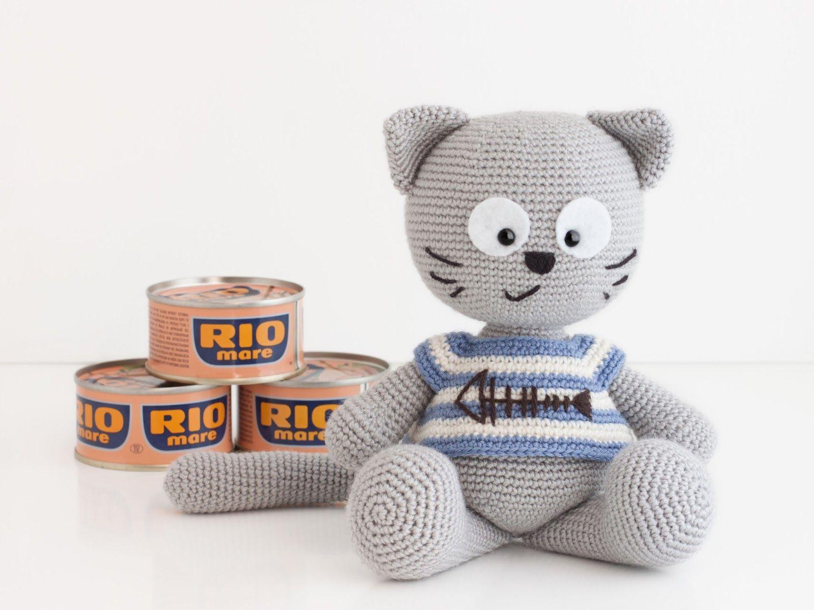 El gato más glotón !!! | Patrones Amigurumi | Pinterest | El gato ...