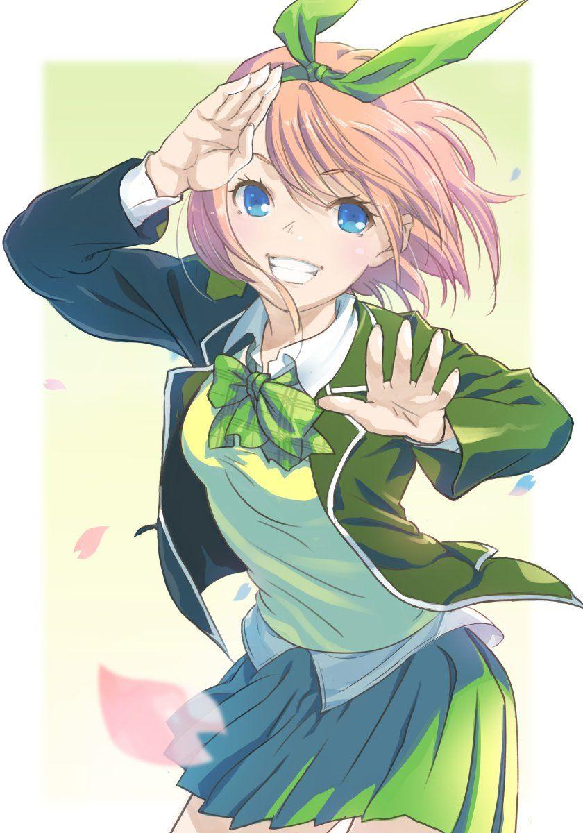 Nakano Yotsuba アニメチビ カワイイアニメ アニメの女の子