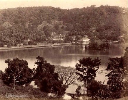 Temple Of The Tooth Across The Lake Lake Photo Historical Photos