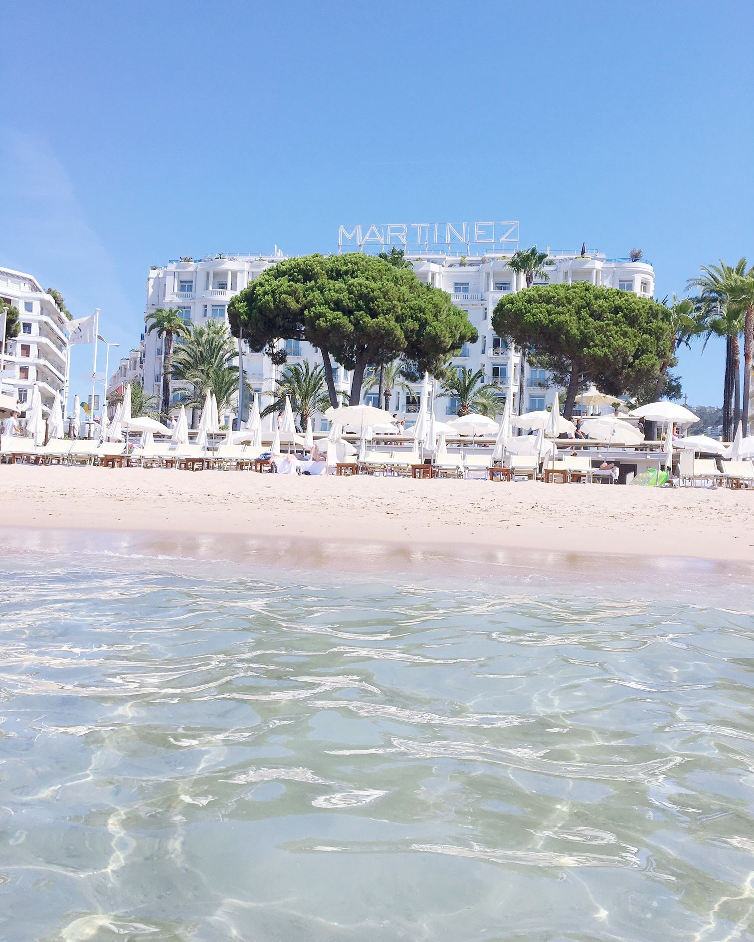 Cannes Hotel Hyatt Martinez Voyage Cote D Azur été Zplage Beach Club Mer