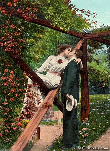 vintage everyday: Edwardian Valentine – Charming Kisses That Make You Unable to Resist in the 1900s
