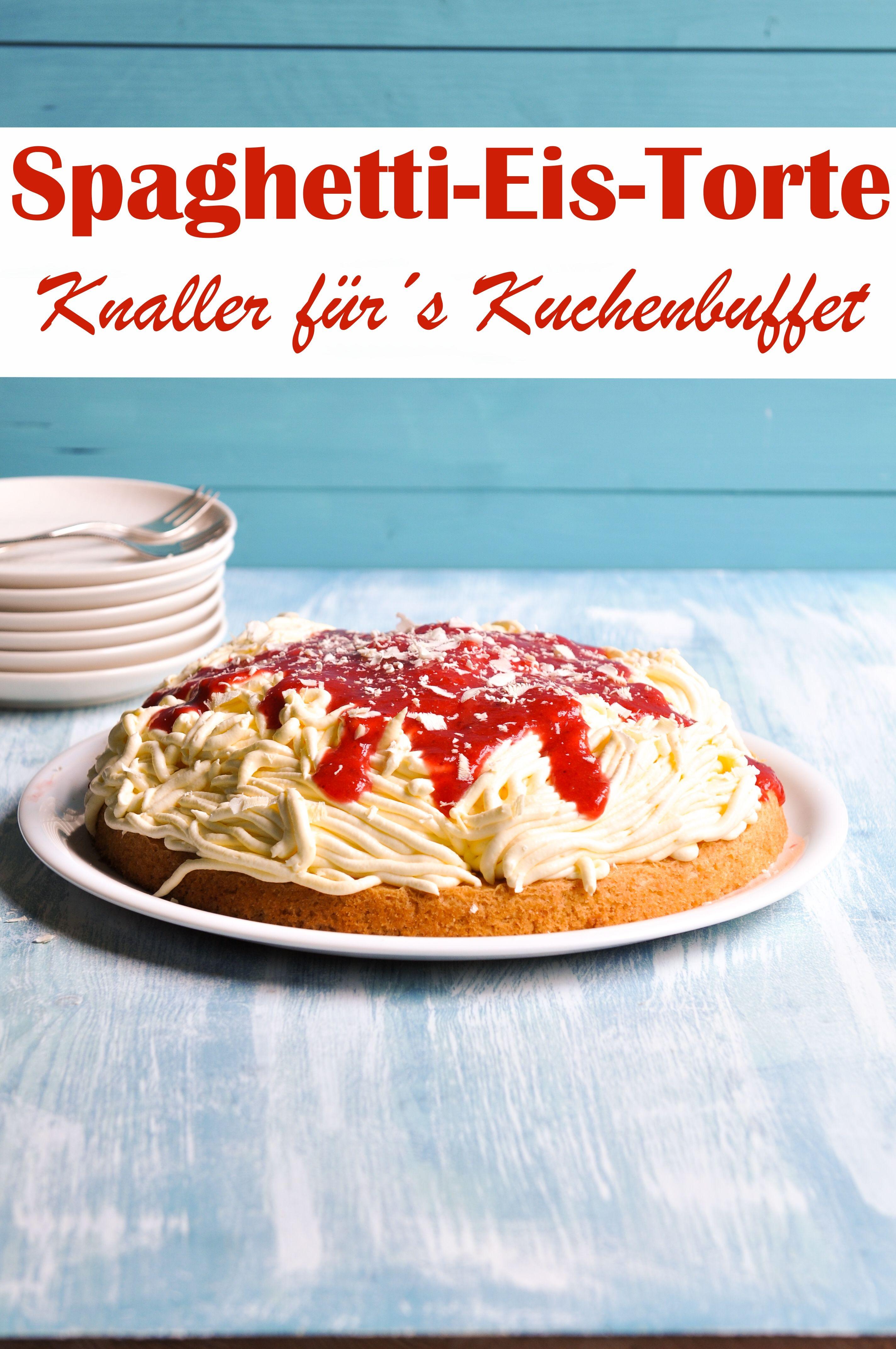 Spaghetti Eis Torte Knaller Spaghetti Eis Rezepte Und Kuchen Und Torten Rezepte