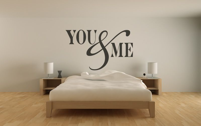 You Me Wall Stickers Love Quotes Wall Quotes Wall Art Decal Cool Love Quotes Wall Art