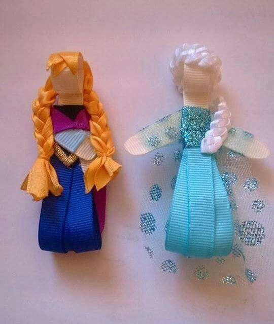 Frozen, hechas con cintas