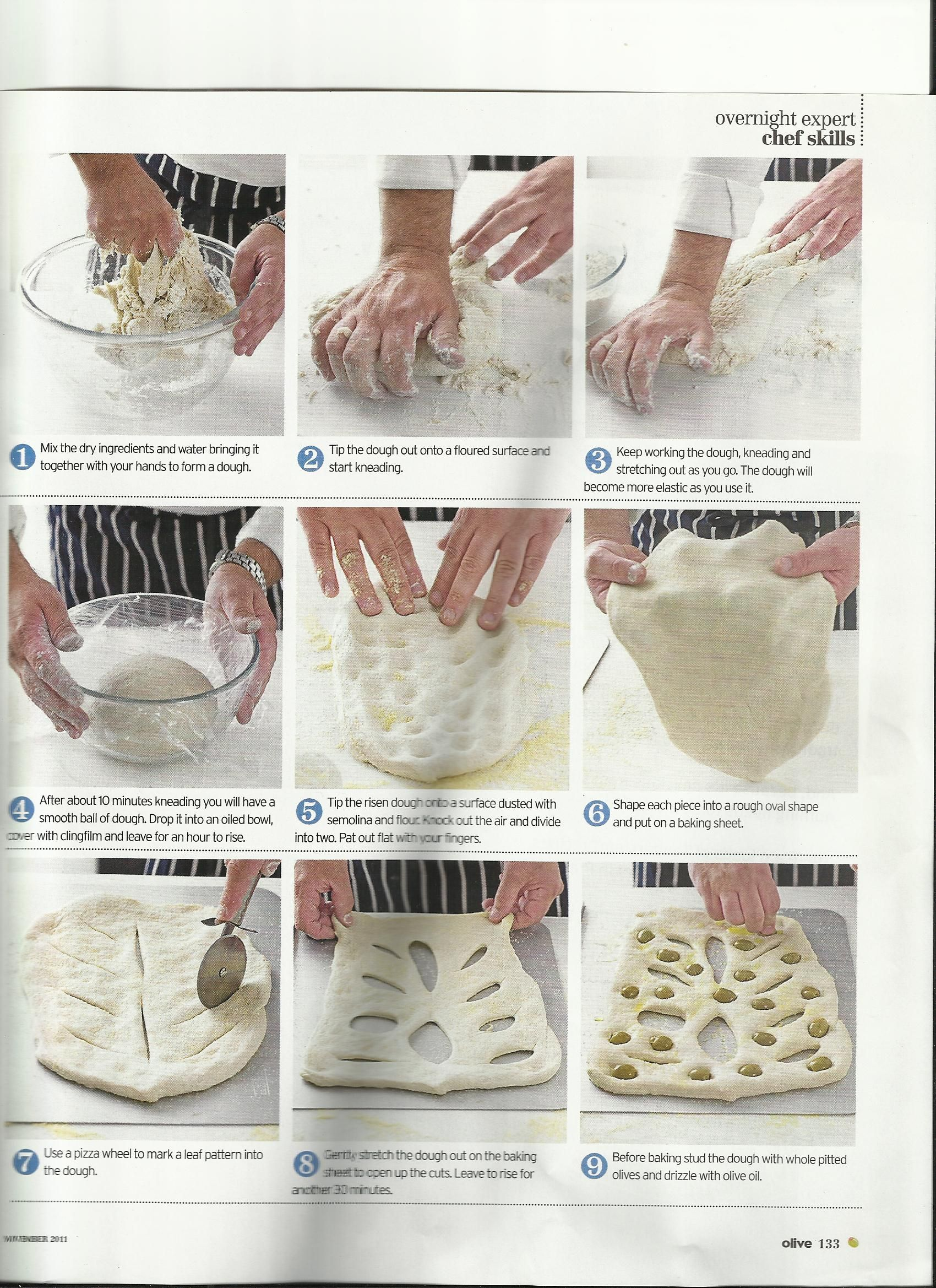 Bread Olive Fougasse Part 2 Paul Hollywood Paul