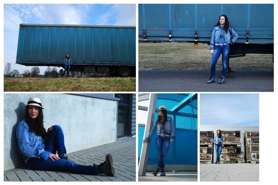 Jeans fotoshoot