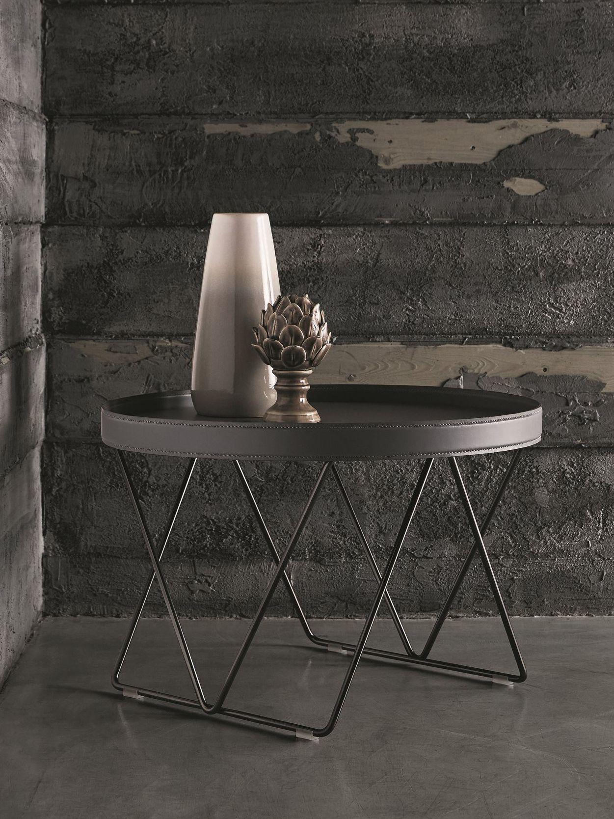 Bontempi Flexus Natural Silver Anthracite Round Coffee Table Round Coffee Table Coffee Table Table [ 1668 x 1251 Pixel ]