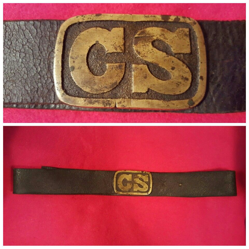 A Beautiful Condition Non Excavated Army Of Tennessee Solid Cast Cs Round Corner Waist Belt Plate This Buckle Has War Belt American Civil War Confederate