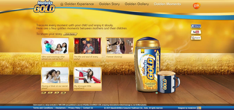 Horlicks Gold_Golden Gallery