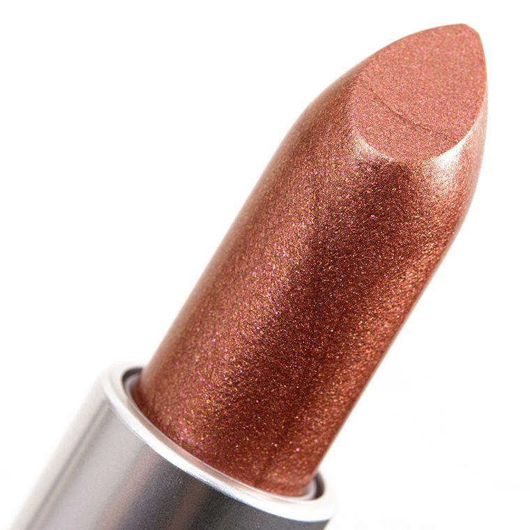 Mac Metallic Lipstick Digging for Gold