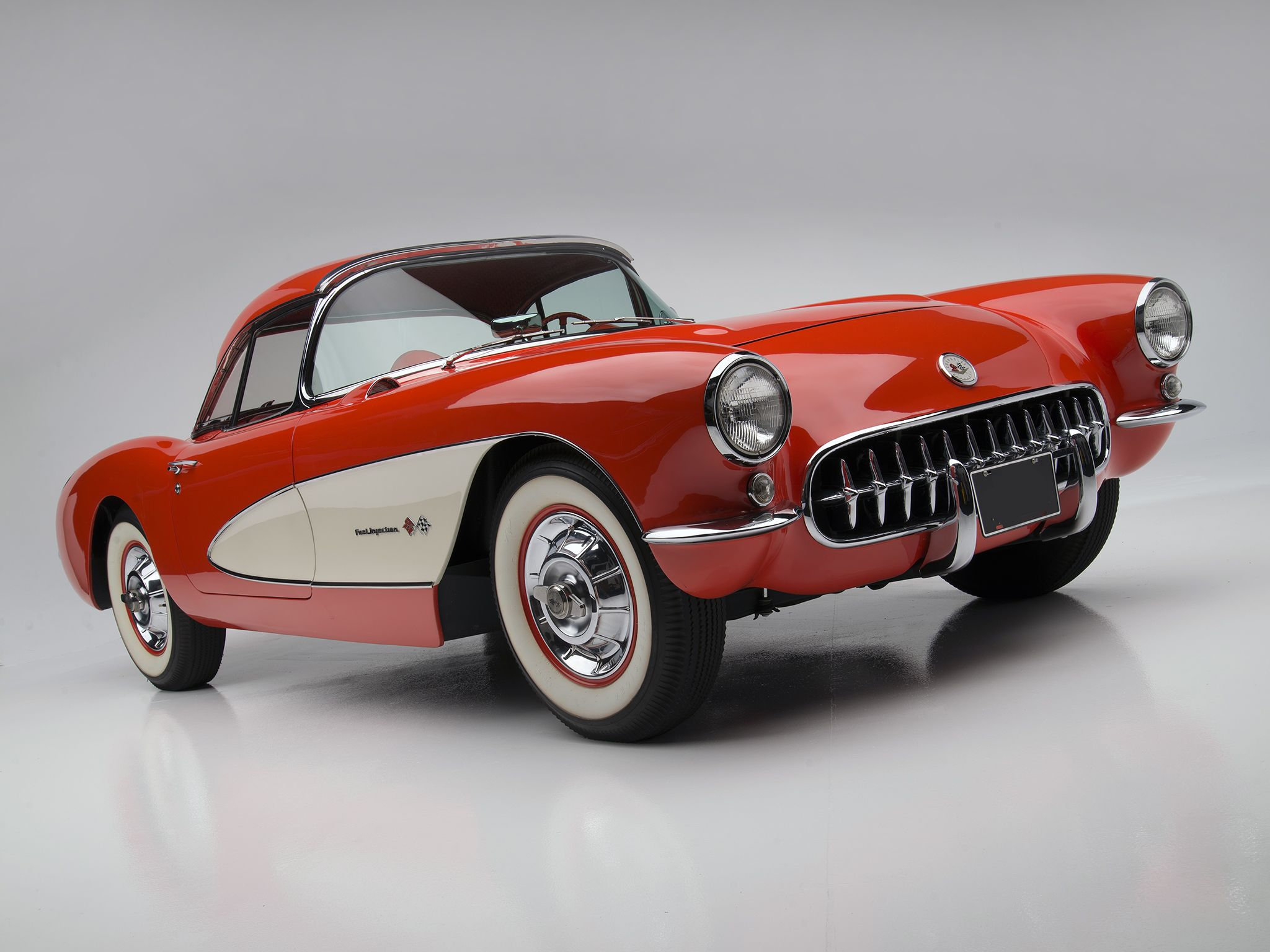 1957 Chevrolet Corvette C1 Fuel Injection http://classic-auto-trader ...