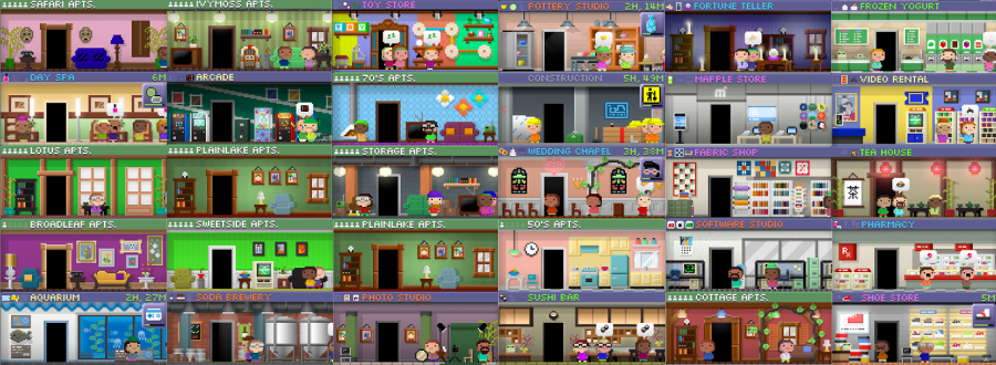Image result for tiny tower Tiny tower, Simulation games