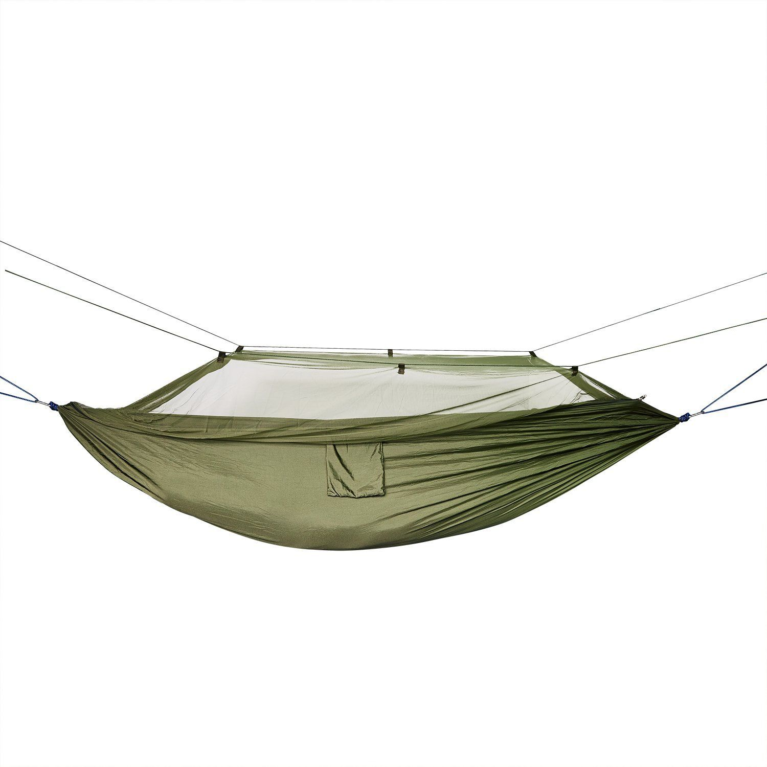 Amazon camping hammock with mosquito net portable high strength