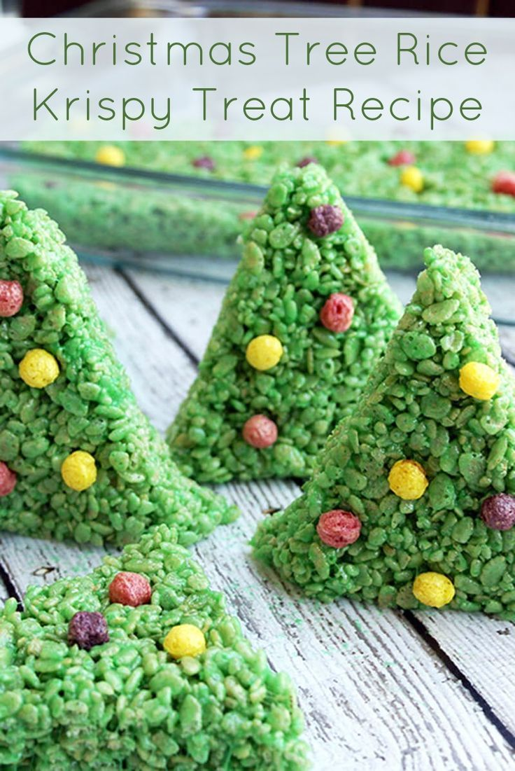 This easy rice krispy treat recipe makes the cutest