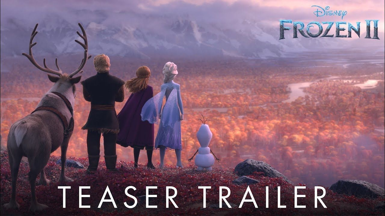 Frozen 2 (2019) Official Trailer Walt disney animation