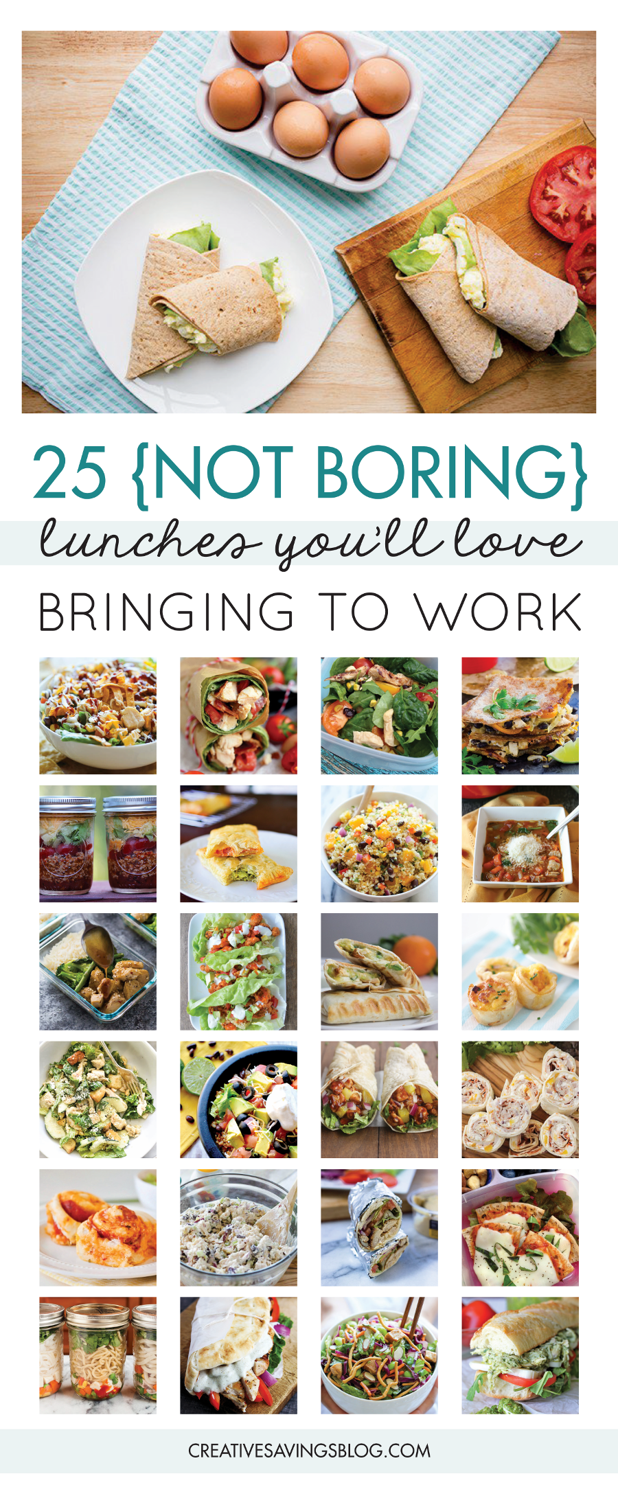 25 packed lunch ideas & clever strategies to avoid eating out at