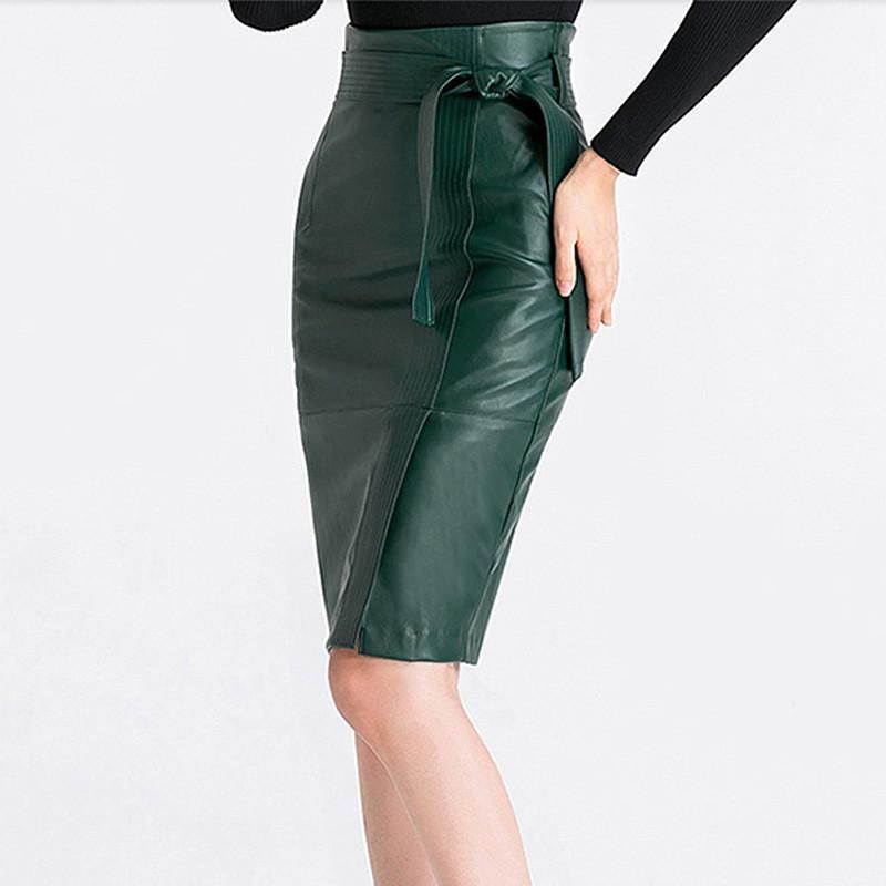 1d630b4a19 2XL 3XL 4XL leather Skirt Women Plus Size Autumn Winter Sexy High Waist  Faux leather Skirts Womens Belted Fashion Pencil Skirt in 2019 | Outfits |  Faux ...