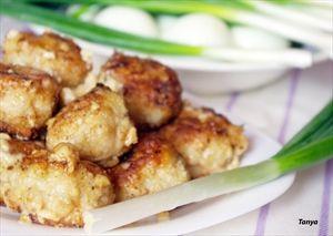 Фото рецепта «Тефтели в горчично - ореховом соусе»