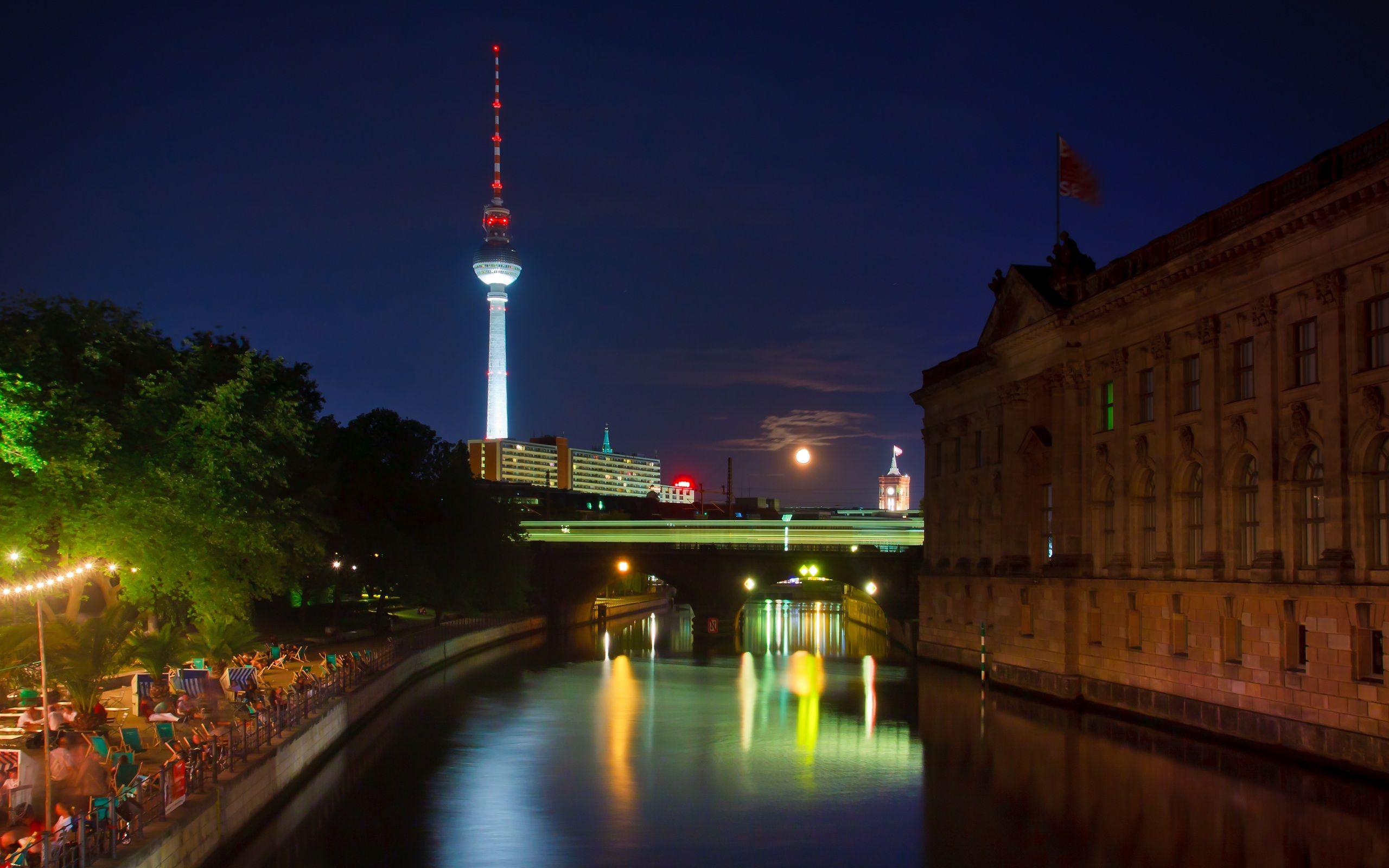 Berlin At Night Germany