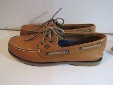 Men's Leeward Boat Shoe Linen 11.5 M