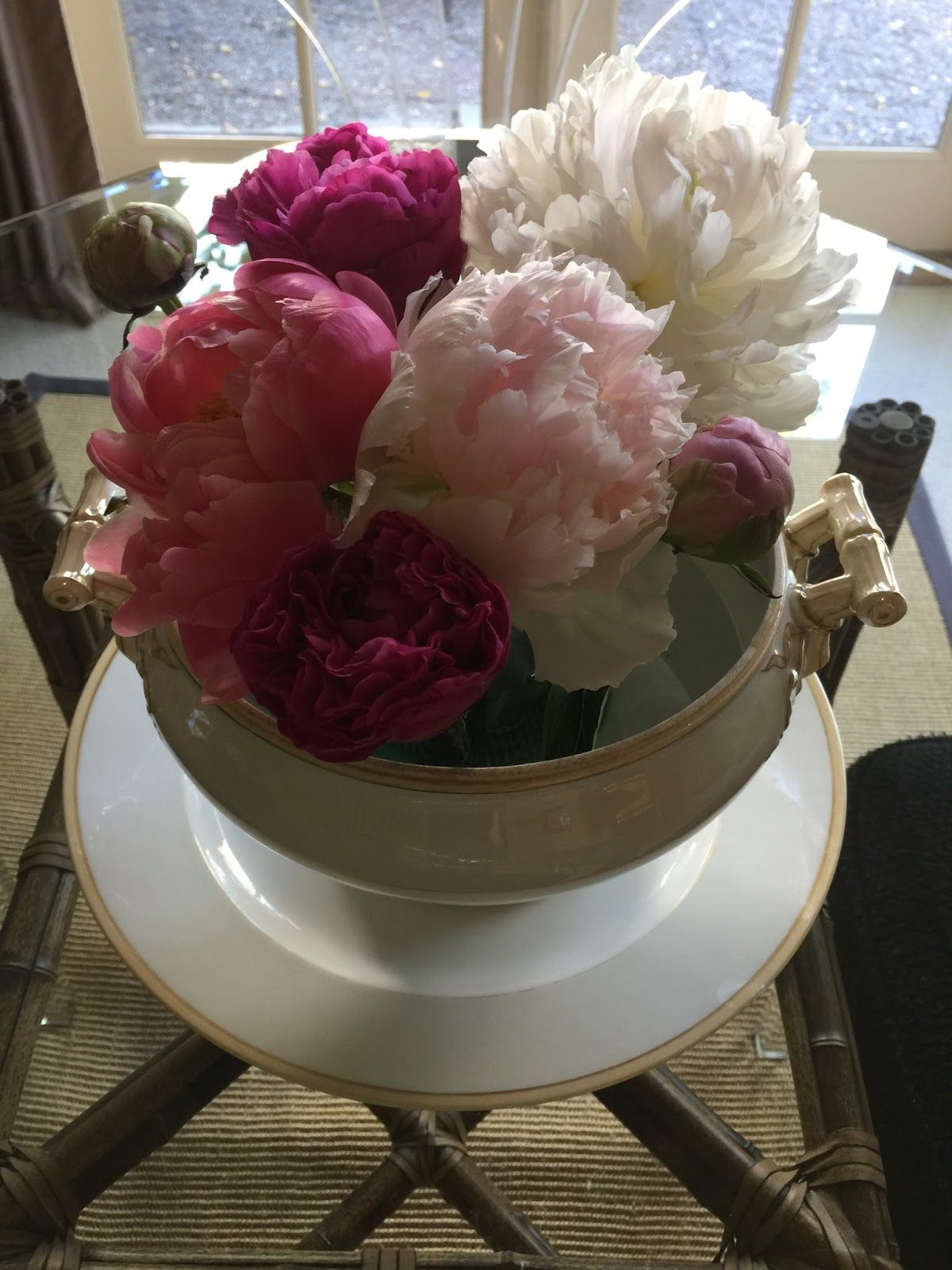 FINALLY, it is Peony Season here in the Bay Area thanks to Trader ...