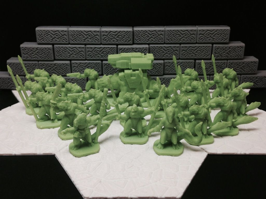 Slisk Raiding Party (18mm scale) by dutchmogul.