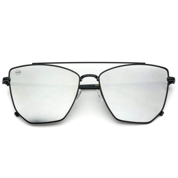 d6a63ec1359 Sadie is a trend setting angular cat-eye design combined with sleek
