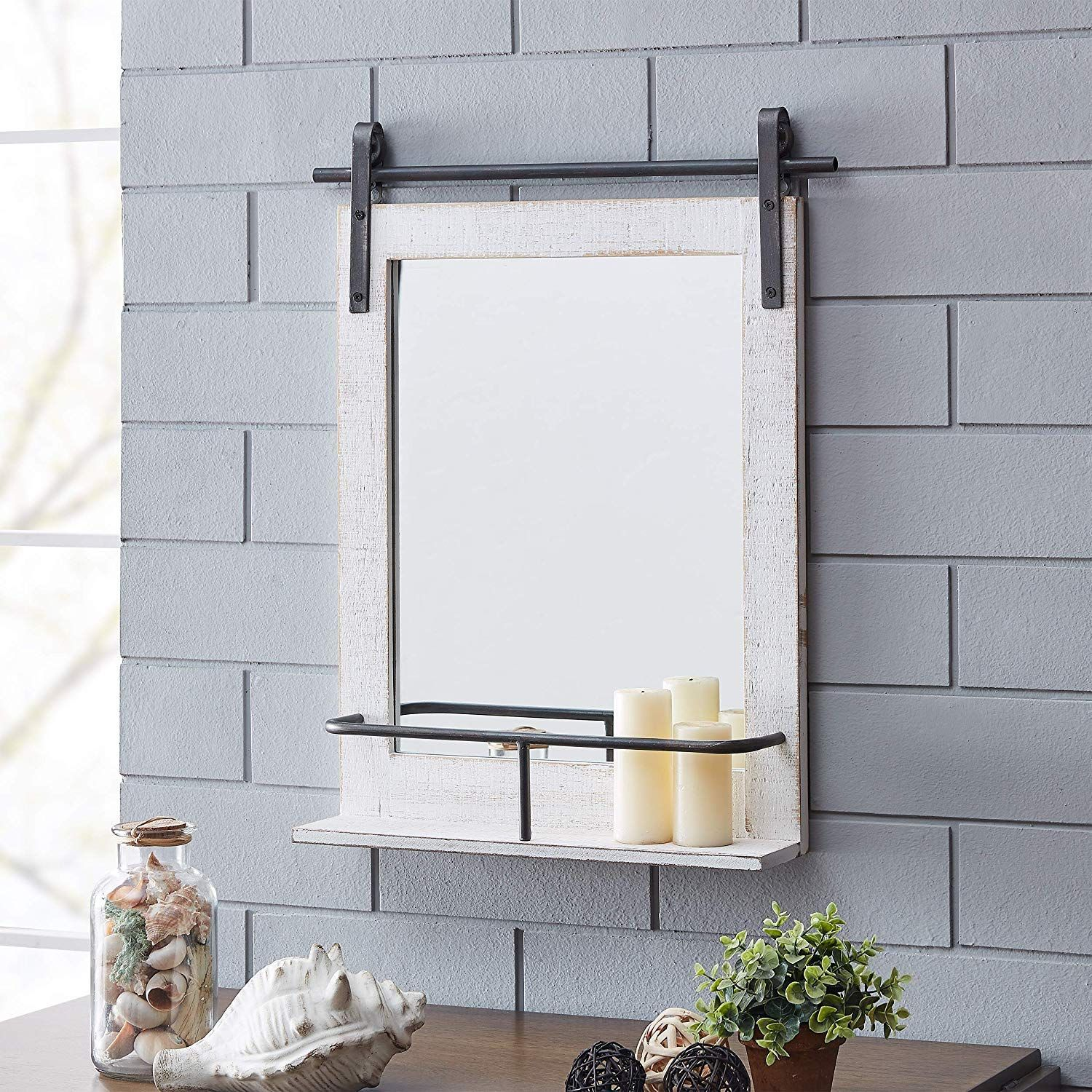 Farmhouse Mirrors & Rustic Mirrors in 2020 Mirror with