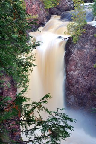 Copper Falls State Park Near Mellen Wi Beautiful Waterfalls Waterfall National Parks