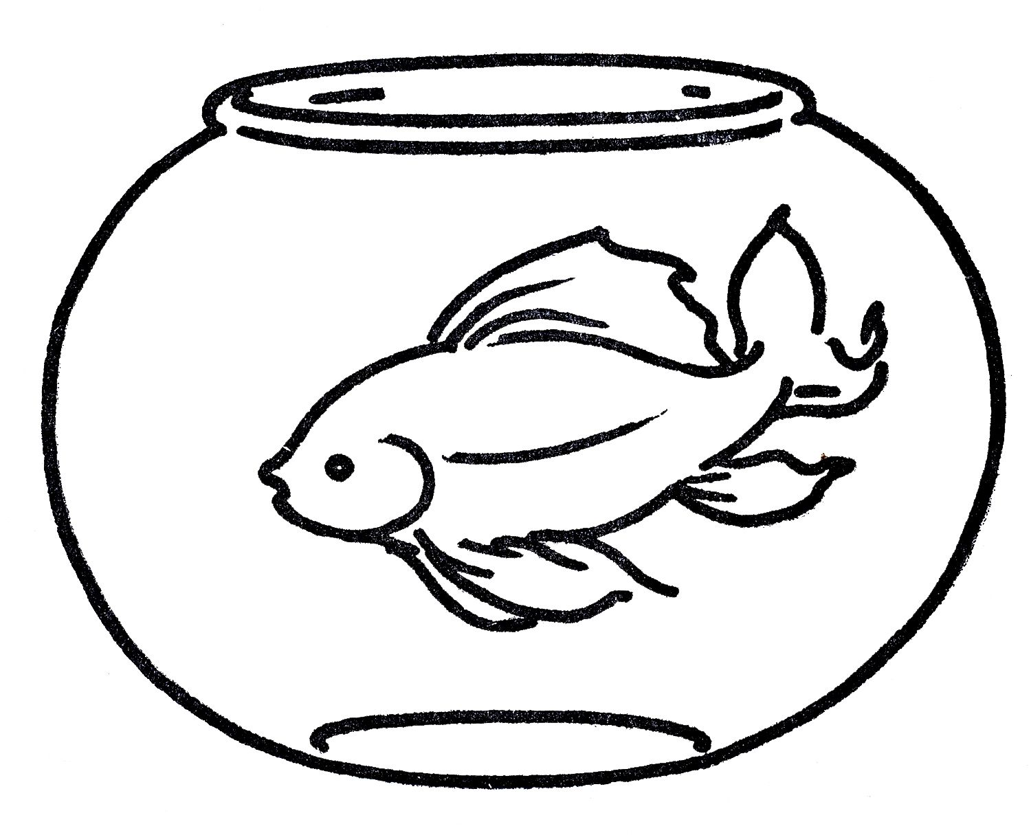 free clipart goldfish in bowl line art fish clipart free clip art goldfish free clipart goldfish in bowl line