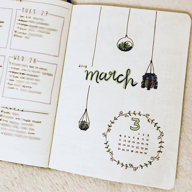 Feb March :: here we go! #bulletjournal #bujo # ...