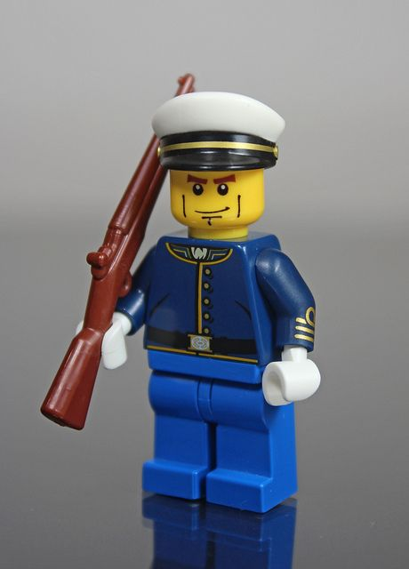 Usmc Dress Uniform Lego Military Lego Lego Figures