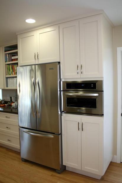 Built In Speed Cook Oven French Door Refrigerator