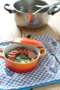 Boerenkool stamppot met een twist - Kale stew with a twist by lekkerensimpel #recept