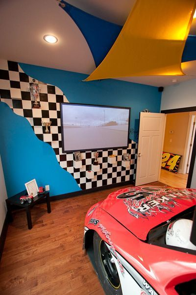 Idea Around Tv For Diecasts And Collectibles Racing Room