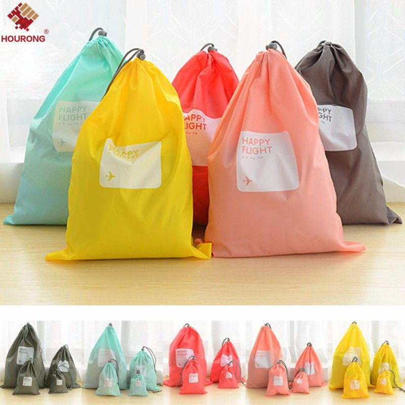 0 99 4pcs Set Waterproof Clothes Storage Packing Pouch Travel