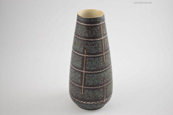 Eckhardt Engler keramik German vase from the 1960s by decirculo