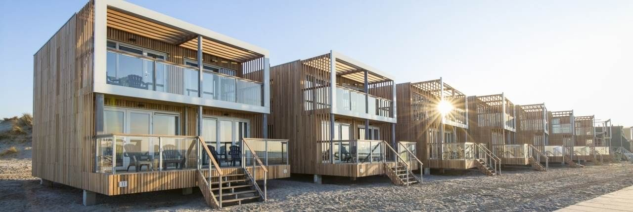 Ferienhäuser direkt am Strand in Holland Strandhäuser