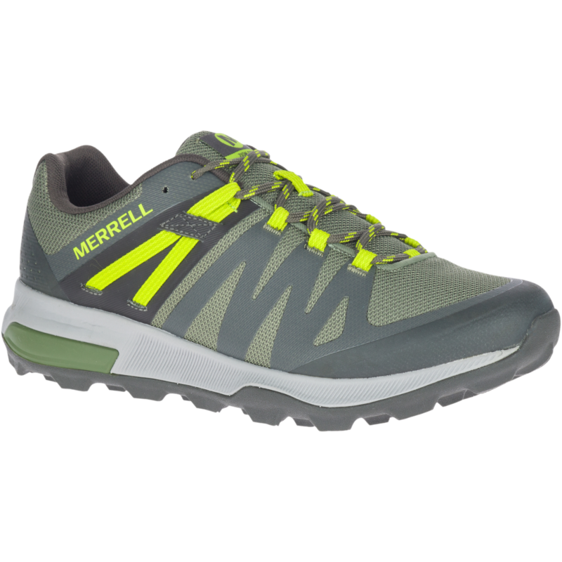 Built on a trail running platform for a sneaker fit, this sporty hiker has a durable mesh upper and our stickiest Quantum Grip� outsole. For all the memories ahead.