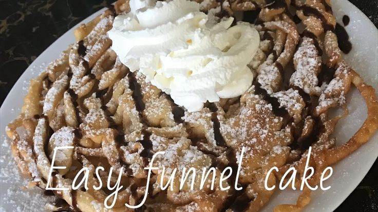 Affordable easy and delicious funnel cake using magnolia