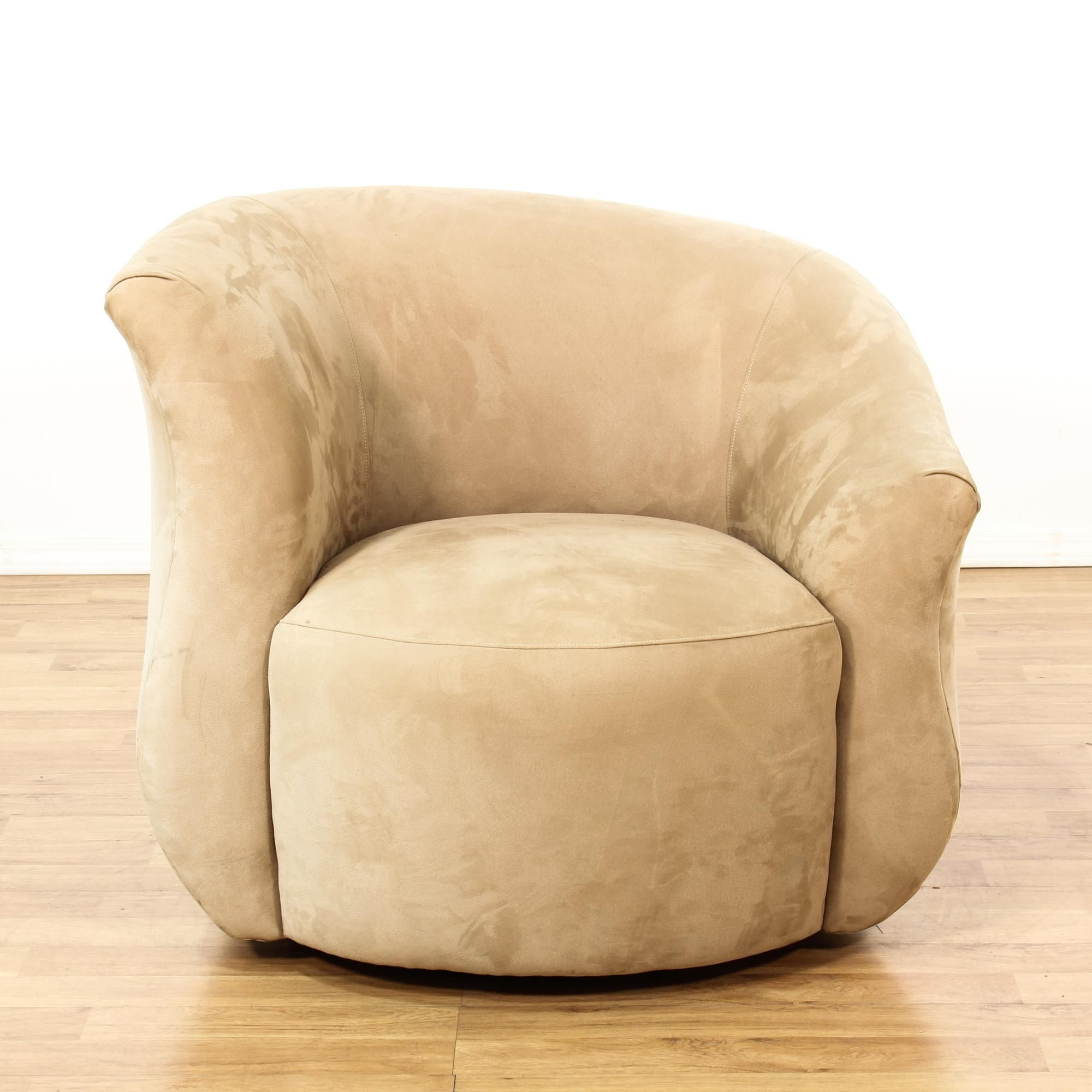 Accent chair contemporary - Contemporary Beige Curved Accent Chair