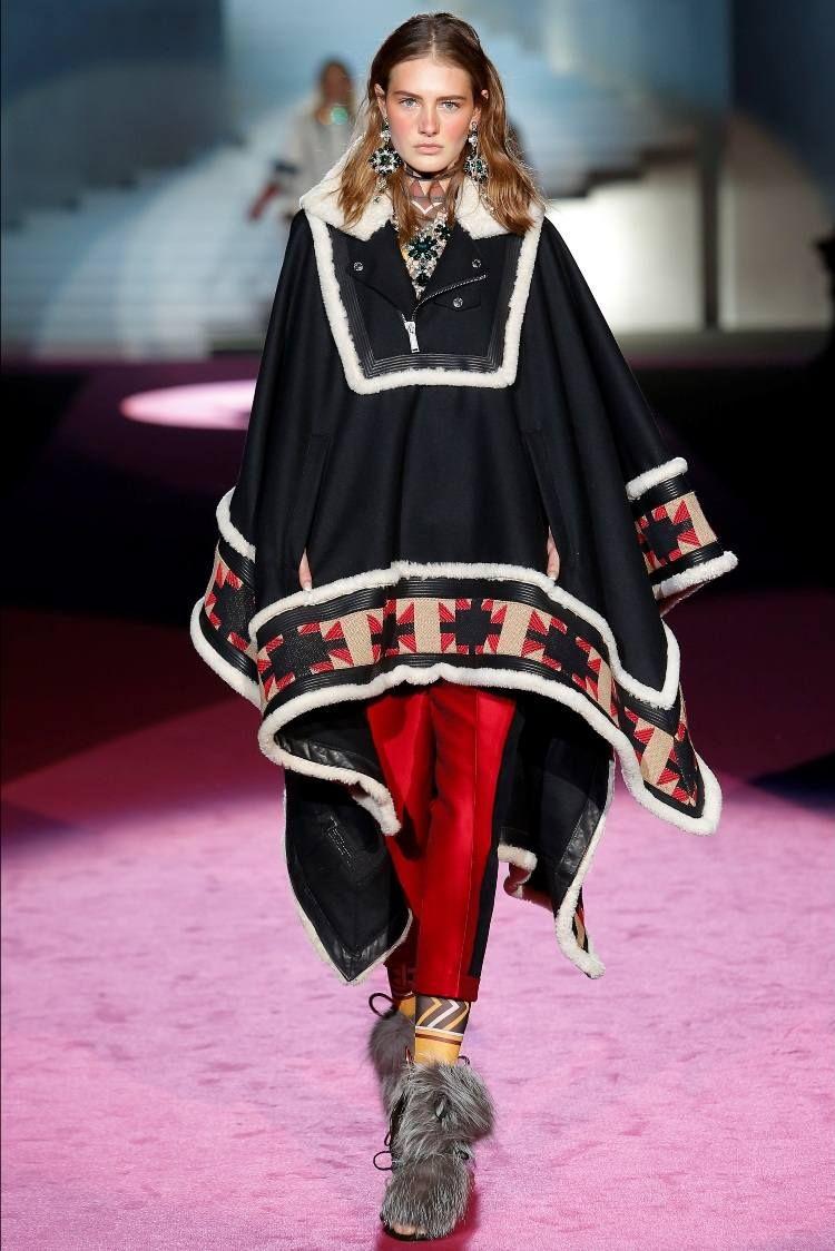 Poncho femme original en 55 designs automne   hiver 2015   Clothes ... fac2fb7b9a3