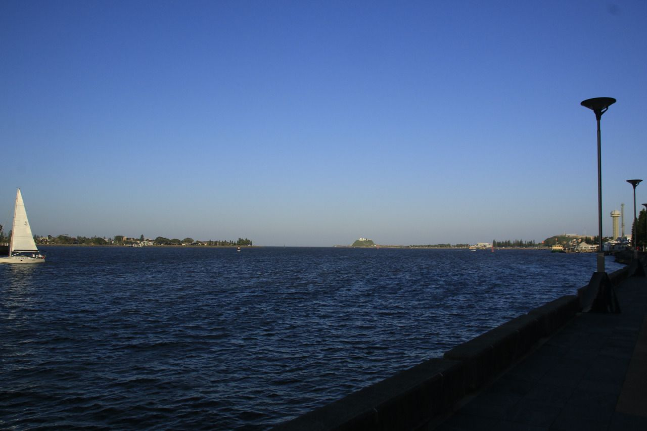 Coastal views around Newcastle, New South Wales.