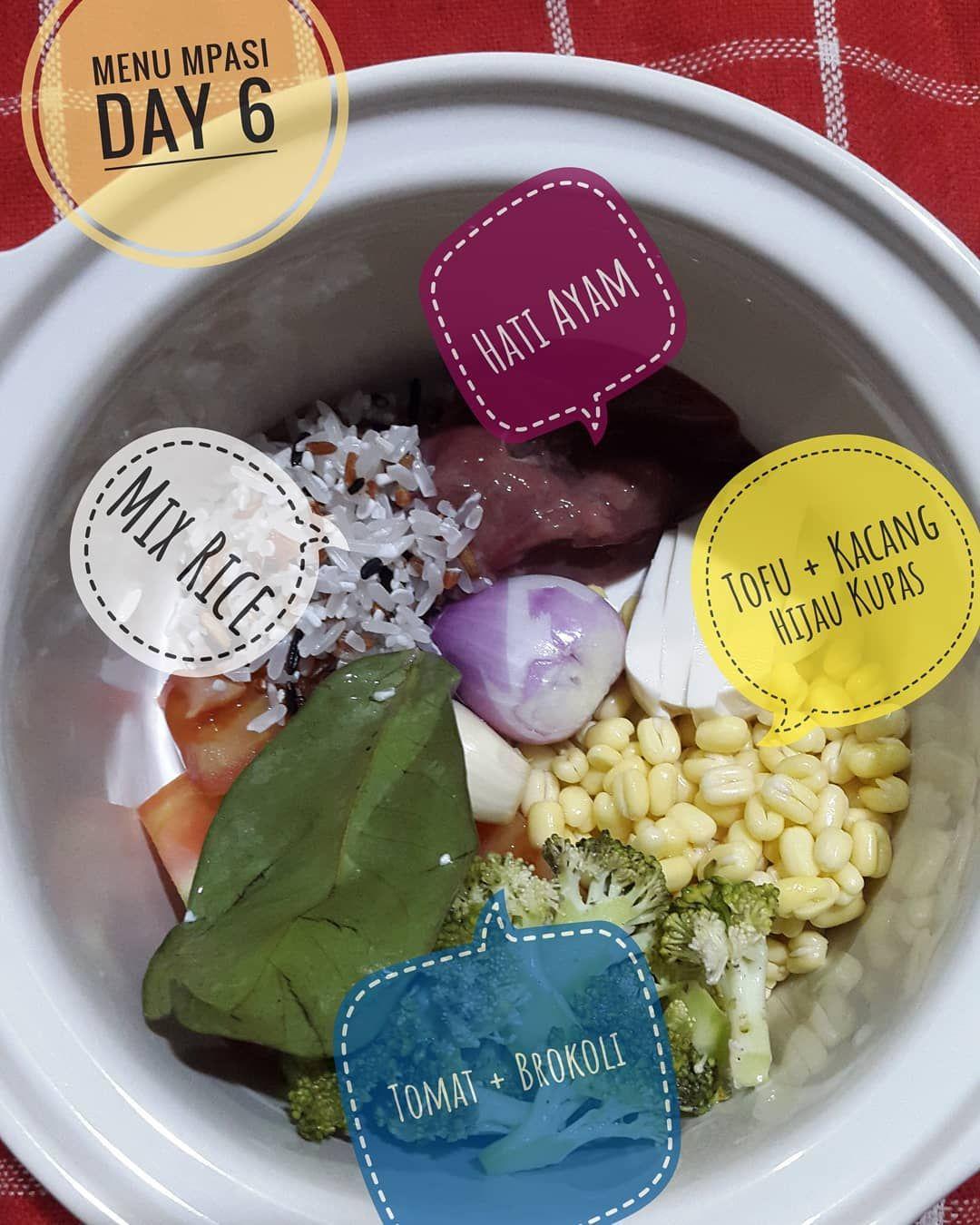 Menu Mpasi 4 Day 6 Makanan Balita Resep Makanan Bayi Makanan Bayi
