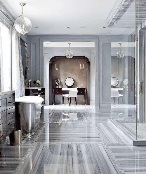 Grey Marble Bathroom color trends   marbles, bath and gray