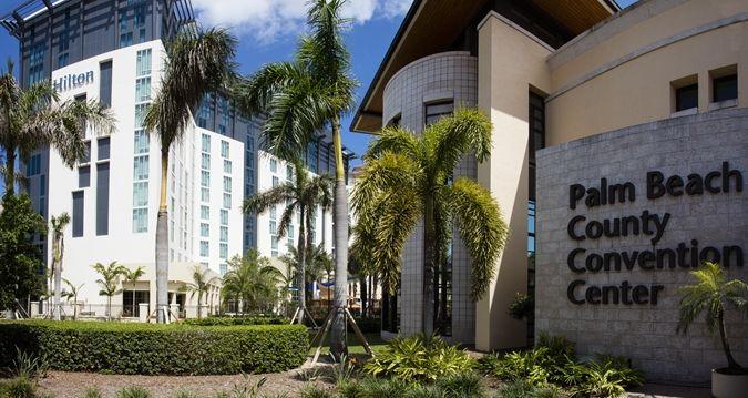 Hilton West Palm Beach Hotel Fl Next To Convention Center