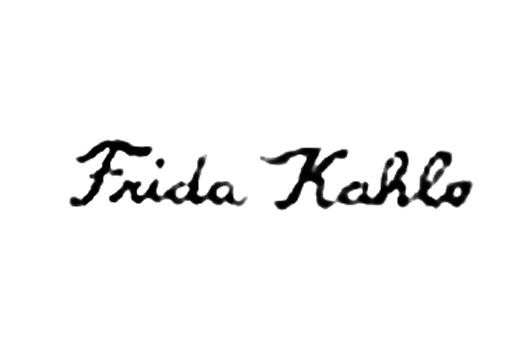 Frida Kahlo Signature Frida Kahlo Frida Dibujos
